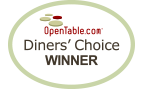 Diners' Choice Winner
